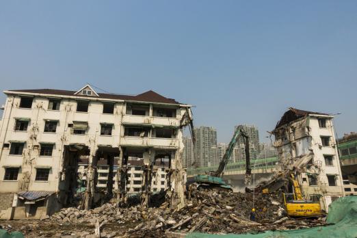村里違章建筑怎樣拆除